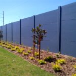 DuneWall with AcoustX Panel by Wallmark Australia 3.6m high at Camden NSW