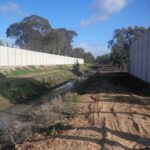 DuneWall with AcoustX Panel by Wallmark Australia 3.9m high at Places Victoria VIC