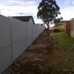 Evowall with Acoustx Panel by Wallmark Australia 2.1m high School boundary in Sydney