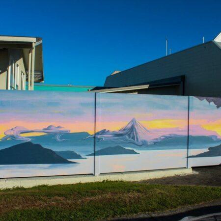 Evowall with Acoustx Panel by Wallmark Australia 1.8m high