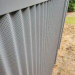 TechnikoWall with Zorbx Panel by Wallmark Australia 2400mm high at Braidwood Hospital NSW