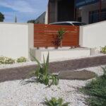 UrbanWall with Acoustx Panel by Wallmark Australia 2100mm high at Edwardstown SA