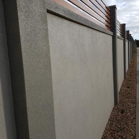 UrbanWall with Acoustx Panel by Wallmark Australia 2100mm high at Patterson Lakes VIC