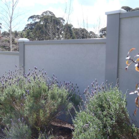 UrbanWall with Acoustx Panel by Wallmark Australia 2400mm high at Adelaide SA