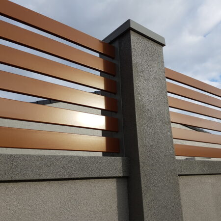 UrbanWall with Acoustx Panel by Wallmark Australia 2400mm high at Patterson Lakes