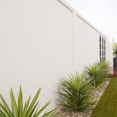 UrbanWall with Acoustx Panel by Wallmark Australia 2400mm high at Yarrawonga VIC